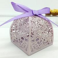 Hot Sale Cheap Chocolate Paper Box Tent Favor Box Chinese New Year Candy Box