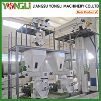 high quality ring die style elephant grass pellet making machine