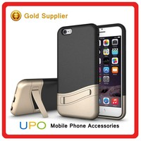 [UPO] 2 in 1 Cover With Kickstand Multi Color Armor Combo Phone Case for iPhone 6s
