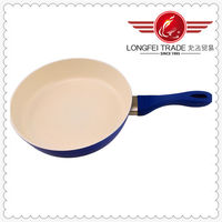 2014 Best cast iron frying pan with long handle high quality