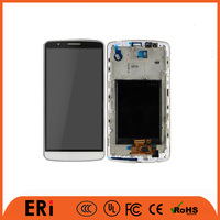 2016 popularity brand lcd for LG G3 lcd china factory touch screen