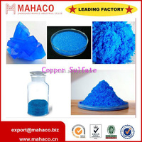 ISO manufacture copper sulphate pentahydrate 96% agricultural use