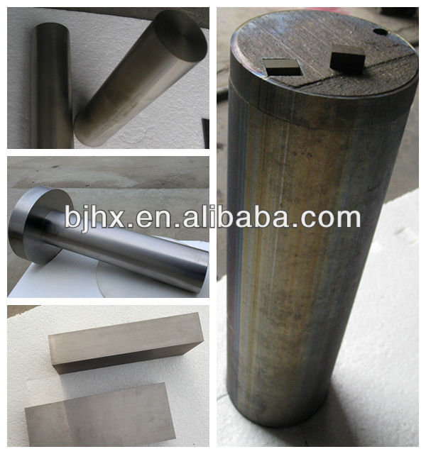 2014 hot sale best price high purity hafnium metal bar/hafnium metal rod