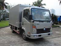 SINOTRUK CDW van cargo truck used truck 3.5 ton for sale