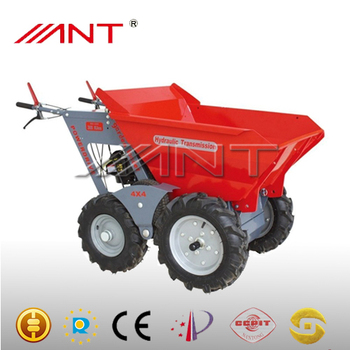 By300 hydraulic wheel barrow motorized wheelbarrow buy for Motorized wheelbarrows for sale