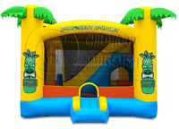jungle themed commercial inflatable bouncer combo, inflatable mini combo jumper