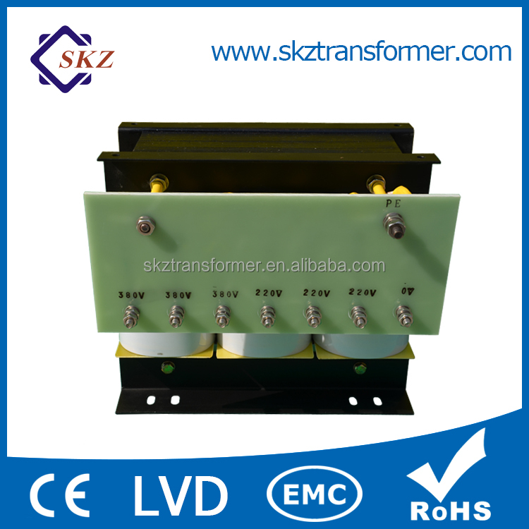 Wholesale Step Down Isolation Transformer 380V To 200V Three Phase Transformer SG 2KVA