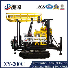 XY-200C Crawler type 200m portable rock drilling machine