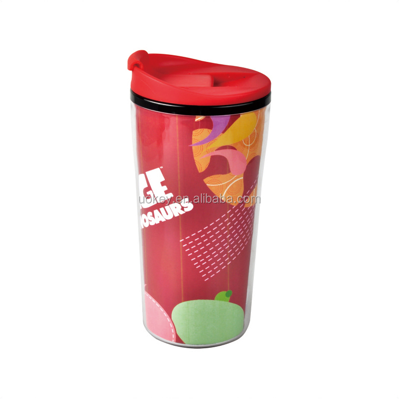 Ice Age Photo Plastic Travel Mug Printed - 11 oz Insulated Reusable Drink Cup