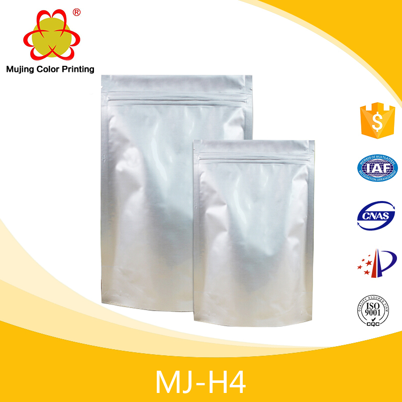 Customized Plastic Vacuum zipper Bag Packaging For Food