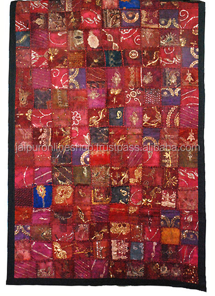 Designer Tapestry Indian PatchWork Handmade Wall Hanging
