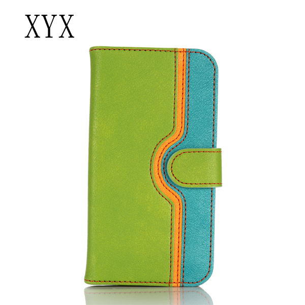flip cover for samsung galaxy j7 2016 with mixed colors rubble grain pu leather, Smartphone leather case for samsung galaxy j7