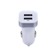 Consumer electronic car accessories 12v mobile phone dual usb battery car charger 5V 2.1A/3.1A/3.4A fast charging for smartphone