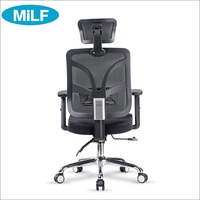 Quanqi Patent Modren Chair Gaming Adjustable Recliner 3D Rrmrest Visitors Manager Office Desk Chair With Neck Support