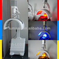 led beauty light machine for skin and face/portable beauty equipment