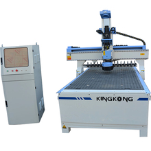 XYZ transmission multi spindle wood cnc router 1325 machine