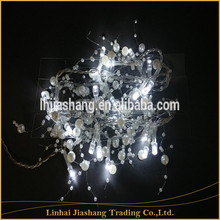 10L led string light christmas light with decoration pearl