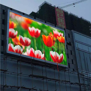 Factory Price HD P5 P6 P8 P10 Outdoor full color Led video display fixed use screen
