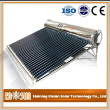 Superior heat pipe all stainless steel solar water heater