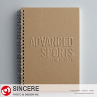 The custom sprial paper notebook