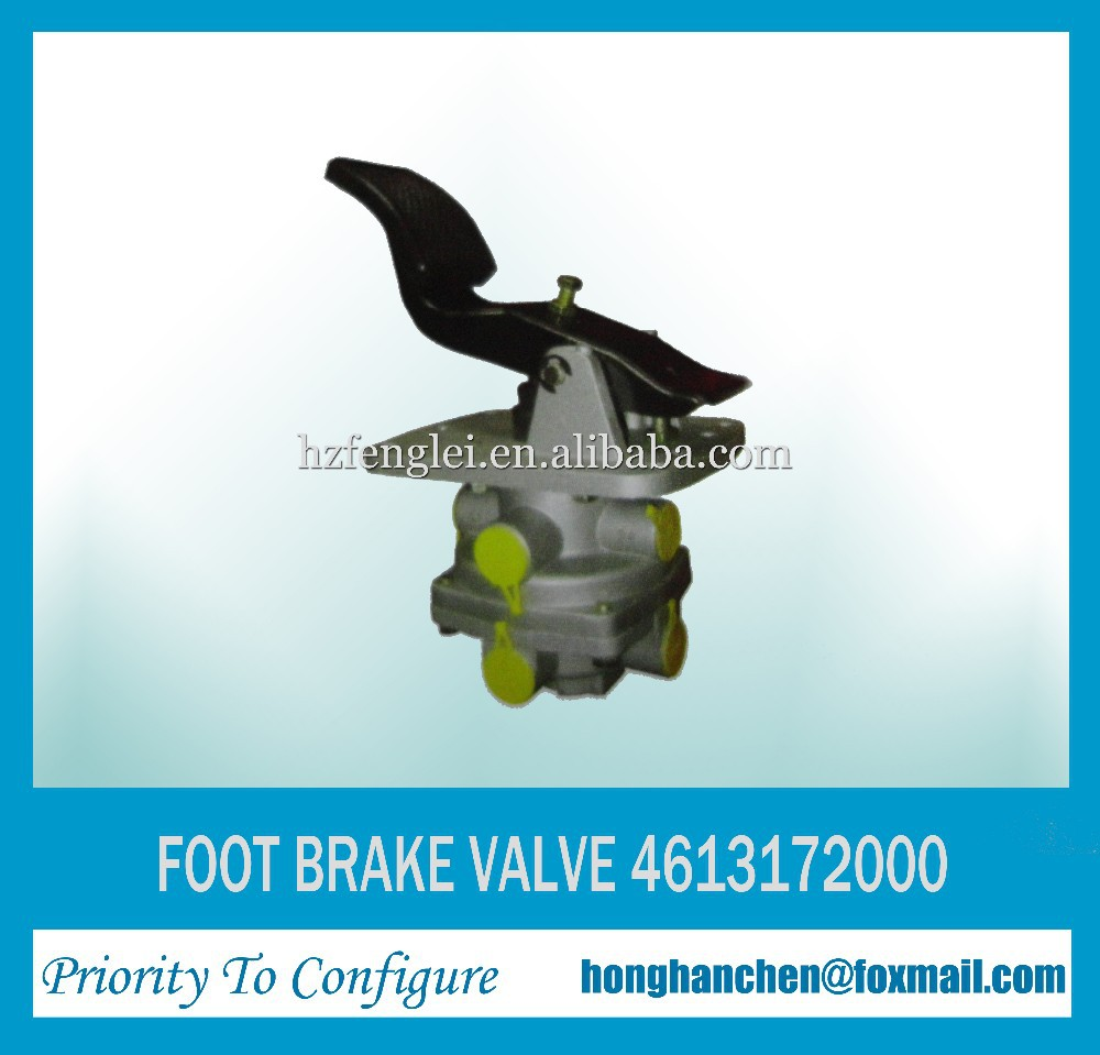 4613172000 Foot Brake Valve for Mercedes benz Truck Parts