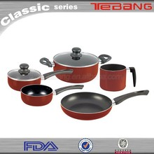 Wholesale china import 7pc cookware set