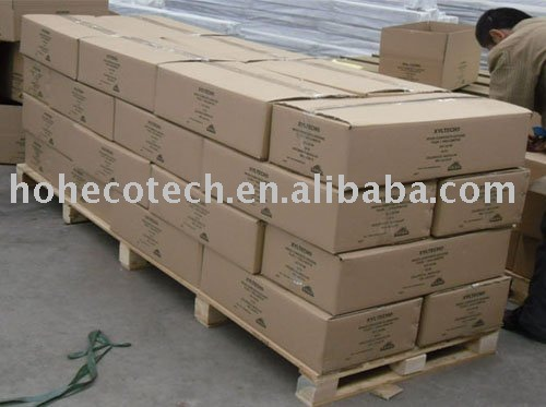 WPC Floor tile Pallets packing