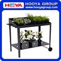 metal movable cheap planter holder