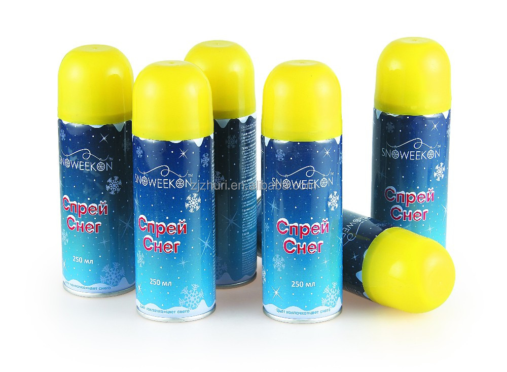 Snow spray for decoration