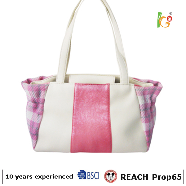 Korean design tote bags for female handbag 2015