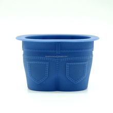 Wholesale Muffin Top Cupcake Mold,Silicone Jean Shaped Baking Cups