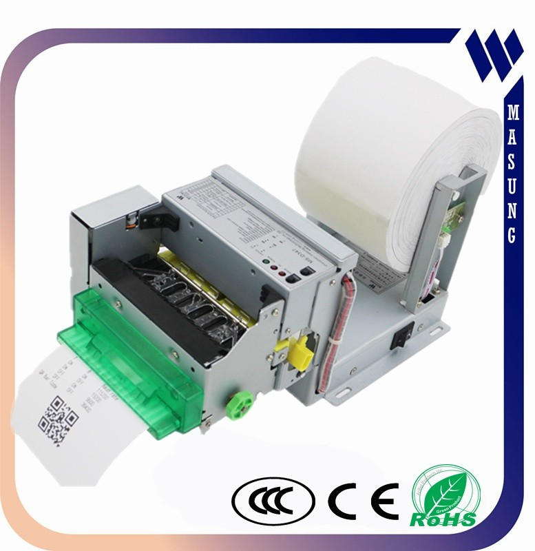 Designed for thermal kiosk unit cheque printing printer with paper presenter
