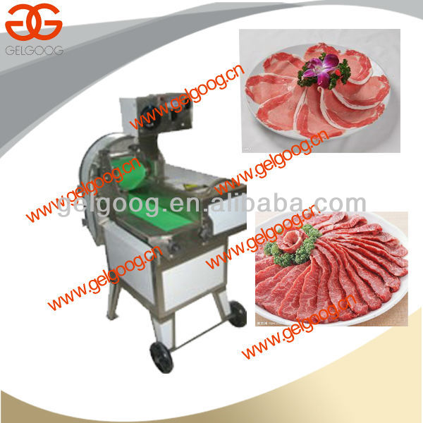 Cooked Meat Slicer Machine|High efficiency beef meat slicer machine|Good quality meat cutting machine