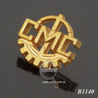 Gold Coated Pin