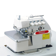 TOPEAGLE TN-747F high speed automatic industrial overlock sewing machine for sale