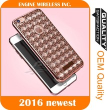diamond studded cell phone case, plastic soft back case cover for samsung galaxy e7