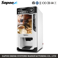 Sapoe SC-8703B table top mini coin operated automatic instant coffee vending machine