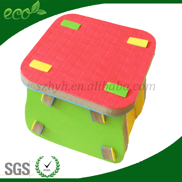 Eco friendly Kindergarten chair/bench/bar stool/puzzle stool for children for kids