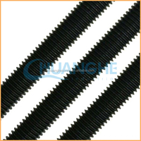 Alibaba selling high quality low pirce warm forged parts threaded rod custom made also available
