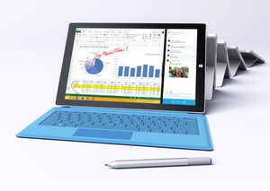 bundle Microsoft Surface Pro 3 - 128GB SSD 4GB RAM - Intel i5 with Type Cover