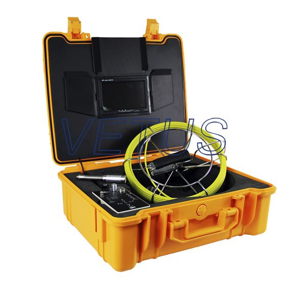 710DNLK video pipe inspection camera with 512Hz Transmitter and Keyboard
