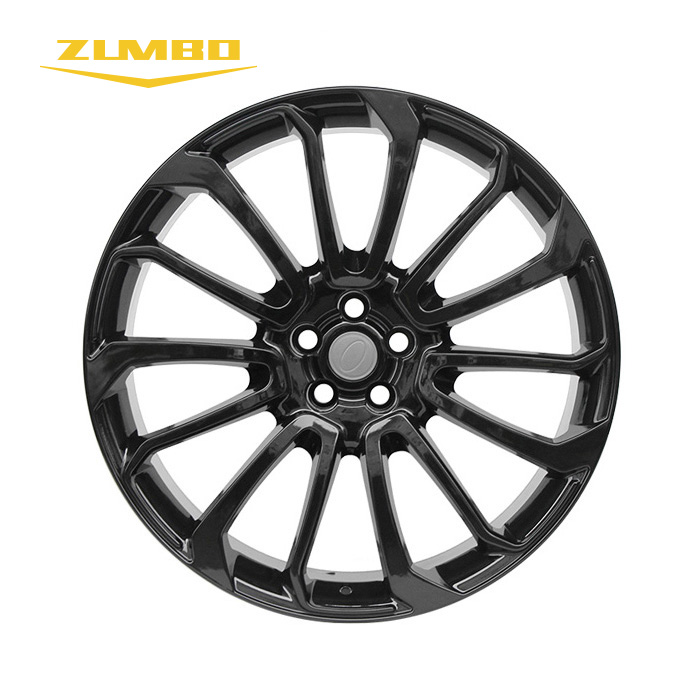"Zumbo 7149 GLOSS BLACK 24x10 24"" High Quality Wheel Rims for Sale replica rims aluminum alloy wheels for cars"