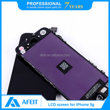 for apple iphone 5s lcd screen digitizer assembly with display