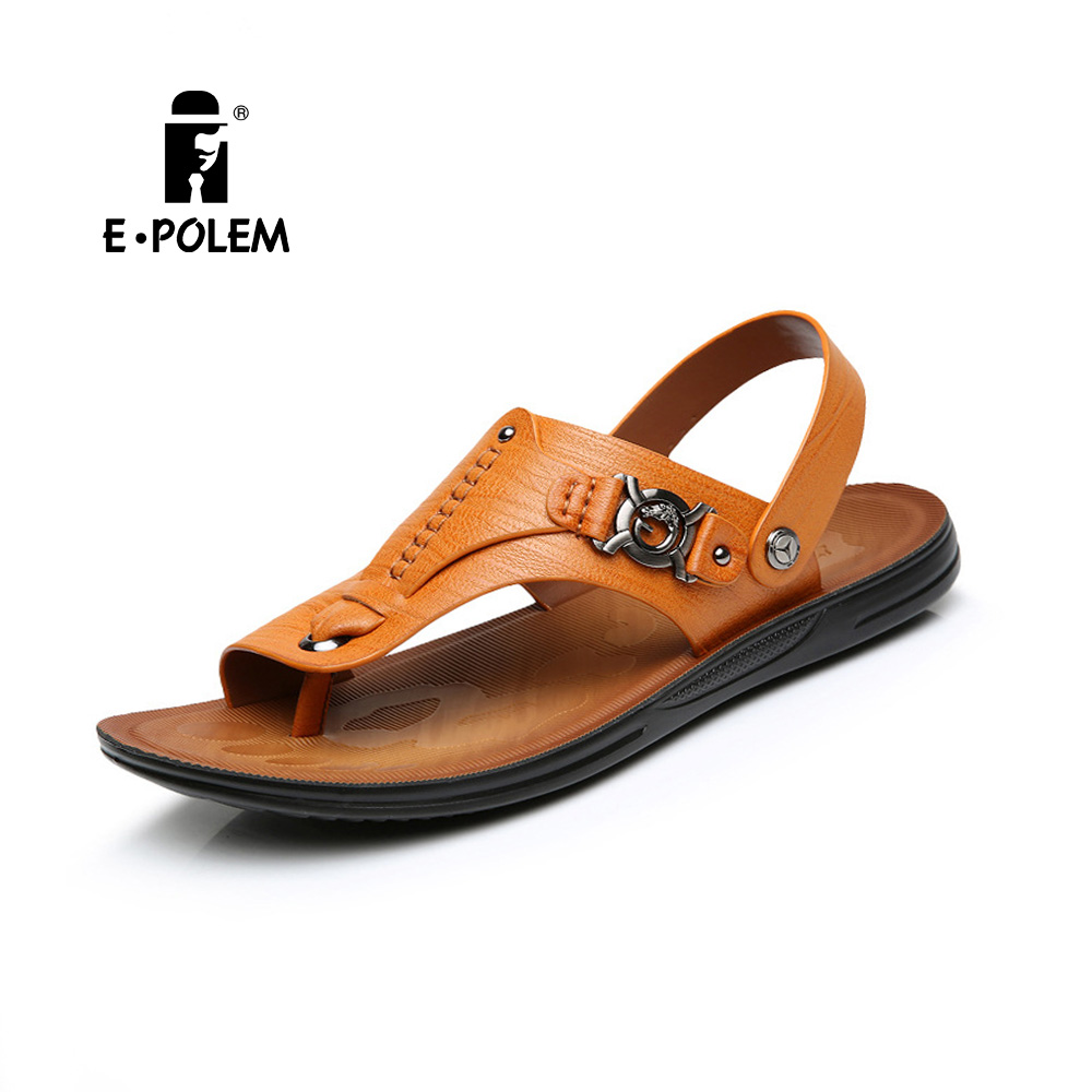 The summer male Sandals Flip Flops slip toe outdoor men beach shoes wholesale