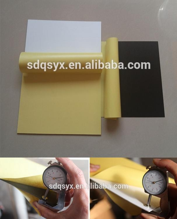 Self adhesive double side PVC Inner sheet