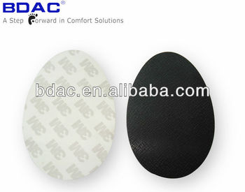 wear-resisting adhesive plastic dance shoe anti skid shoe pad