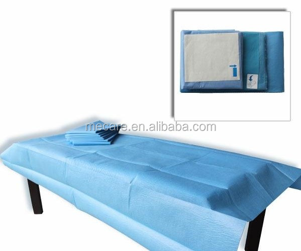 Sterile Disposable Hospital Rubber Bed Sheets
