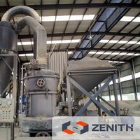 Zenith hot sale quartz grits grinding machine with large capacity and ISO