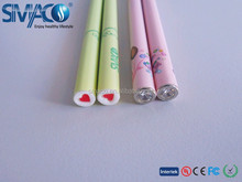 Colourful eshisha with crystal diamond disposable e cig 120mm e cigarette