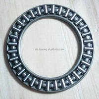 Flat cage thrust needle roller bearing AXK0821